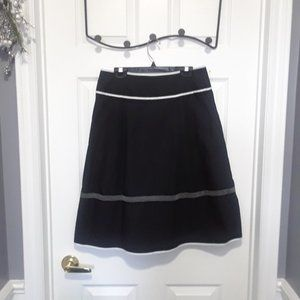 Talbots, Black Skirt with Flare